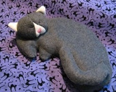Kitty shaped therapeutic herbal pillow