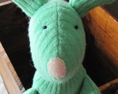 Squishy - Natural Plush Bunny Toy - Baby safe - Waldorf inspired - Easter Basket Bunny