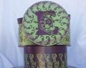 Custom Set of Three Hat Boxes