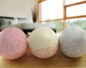Bath Bomb Trio with a FREE soap of your choice