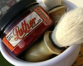 Shaving Brush and Lather Combo