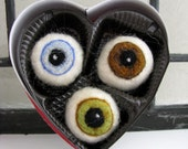 I Only Have Eyes For You - Made to Order Needle Felted Weirdness