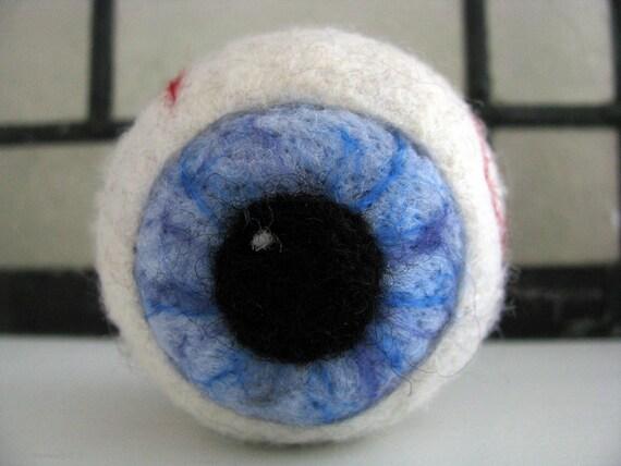 Needle Felted Giant Eyeball - Made to Order