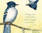 Change - 8x10 archival watercolor print by Tracy Lizotte