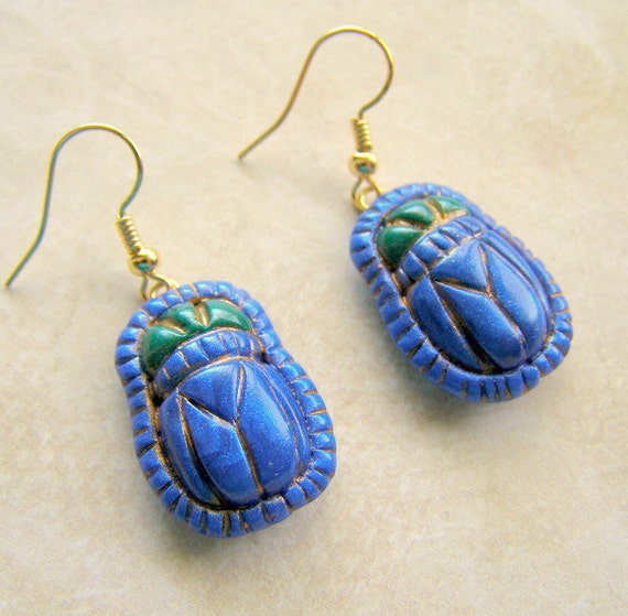 how to make a scarab beetle out of clay