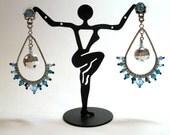 Rock Princess Teardrop Earrings feat. Swarovski Crystals