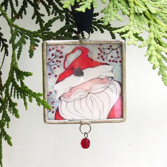 Christmas Ornament, Saint Nick, Santa, Believe, Santa Claus, Limited Edition