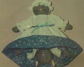 Tabitha Topsy-Turvy Cat stuffed doll pattern