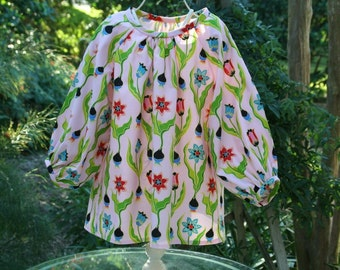 Sample Sale Lovely little long sleeve tunic.  One of a Kind in size 3T