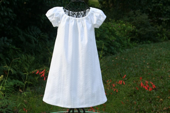 Flower girl...Baptism lined white dress  Available from Newborn, 6 mon. 1T..2T..3T..4T
