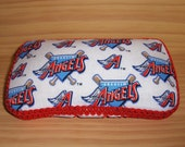 Boutique Diaper Wipe Container Case - Anaheim Angels - MLB