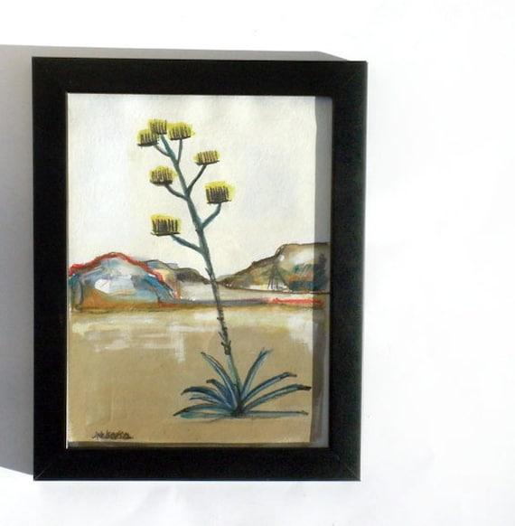 Por el desierto original painting