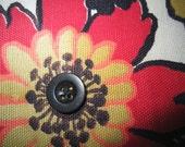 Vintage fabric Wristlet