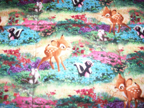 Handmade Disney Bambi Flower Thumper Cotton By Quilty61 On