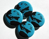 SALE. Barack Obama Buttons, 1.25 inch, 4/pack  - FREE SHIPPING