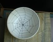 halloween spider web bowl