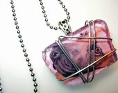 Mastiff Cut Glass Necklace
