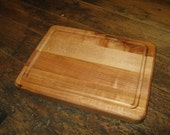 Hard Maple cutting board with juice groove 9x7
