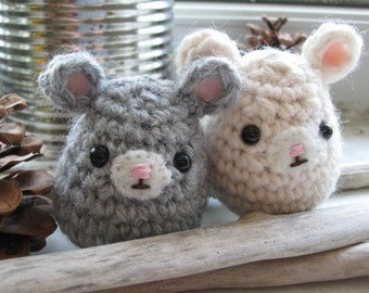 Colby the Mouse---crochet animal PDF pattern, tiny and cute, toy, home decor, small amigurumi