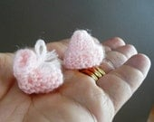 Mini Knitted Bootees and Beanie Patterns - PDF KNITTING PATTERN