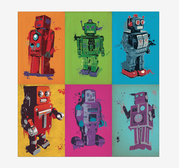 Colorbots - Complete Set of 6 Posters
