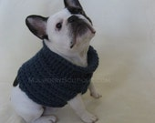 I'm Too Cute Dog Sweater--Size Small