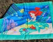 Little Mermaid quilted blanket