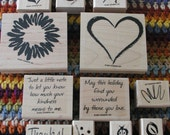 Sketch It Stampin'Up Rubber Stamp Set