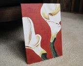 """Calla Lily 2 Painting 5""""x7"""""""