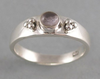 hackmanite and sterling silver ring FREE SHIP