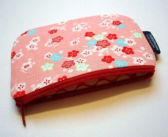small zipper pouch - coin pouch - READY TO SHIP