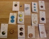 Assorted Buttons Lot of 23