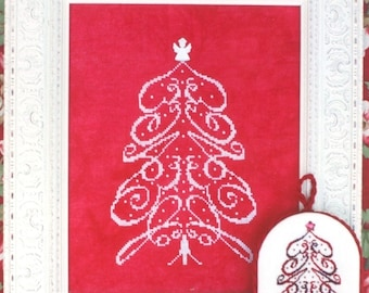 M Designs PEACE Tree Cross Stitch Chart  Instant Downloadable PDF