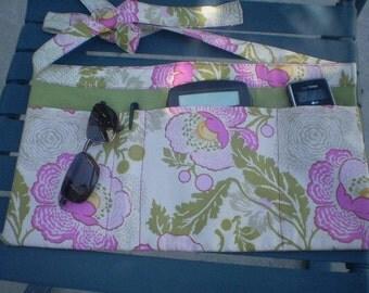 Tool Belt in Amy Butler Peony Fabric