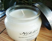 FOUR LEAF CLOVER - 10oz Apothecary Jar Soy Candle