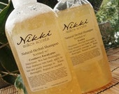 Herbal Shampoo, 8oz  - over 250 scents to choose