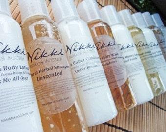 Shea Butter Body Wash Sample - FRUIT/VEGETABLE scents (part 1)