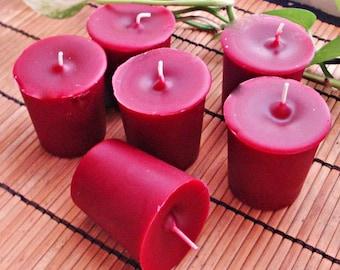 KRINGLEBERRY -  Round  Votive Candle 6pk