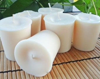 MEDITATION HAIKU - Soy Votive Candle 6pk