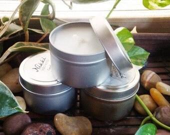 POWDER PUFF - Soy Candle Tin, 4oz
