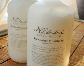 Shea Butter Conditioner - Over 250 scents New Organic Formula