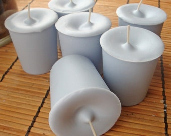 WATERFALL MIST -  Round  Votive Candle 6pk