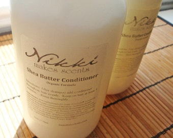 PEPPERMINT - Shea Butter Conditioner, 12oz
