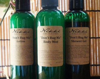 Don't Bug Me Bath and Body Set