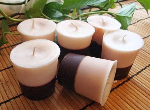 WARM VANILLA NUTMEG - Soy Votive Candle 6pk