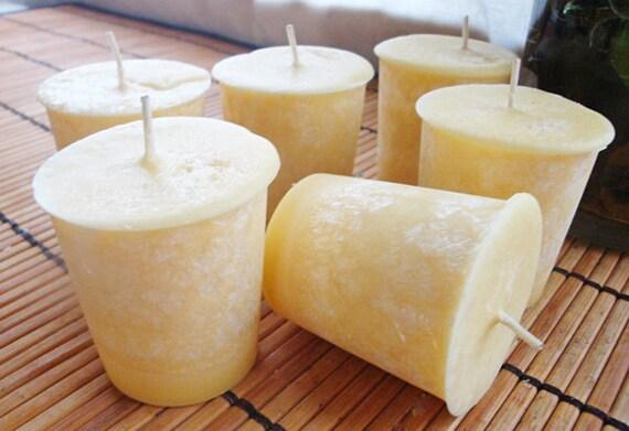 LEMONGRASS SUPREME - Natural Wax Votive Candles (15)