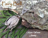 Tulip Fairy Bell Necklace Bestseller, Marta Weaver Jewelry, Choose Custom Length, 24 hr shipping weekdays