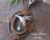 Hummingbird's Egg Necklace