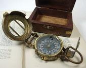 Antique Maritime Compass no.1- STEAMPUNK VICTORIAN