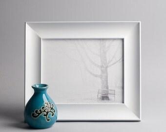 The Fog 8x10 Framed Canvas Print